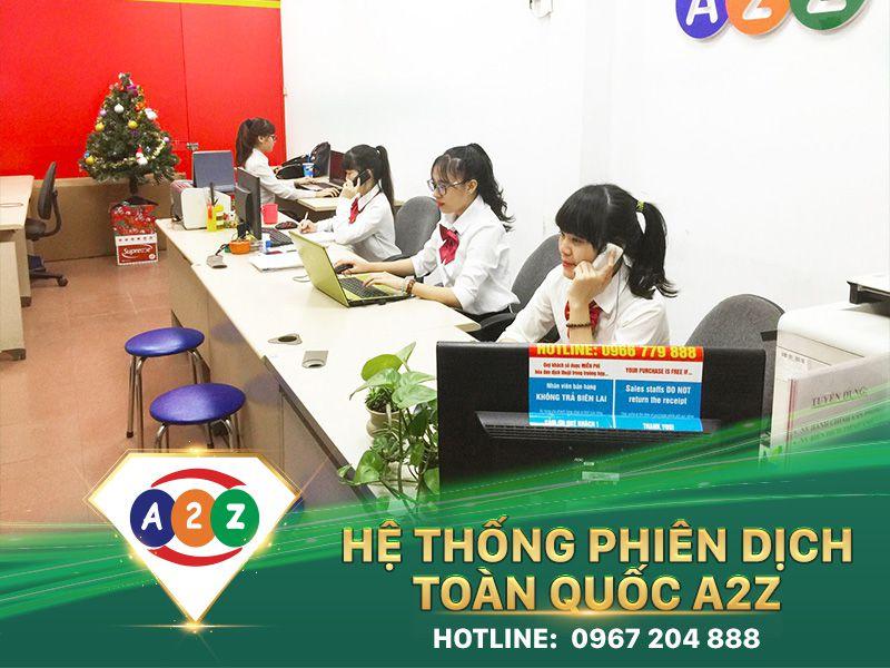 Phiên dịch tiếng Myanmar tại Long An