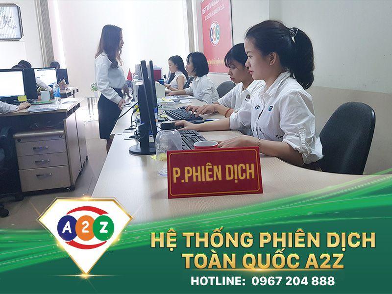 Phiên dịch tiếng Thái Lan tại Thừa Thiên Huế