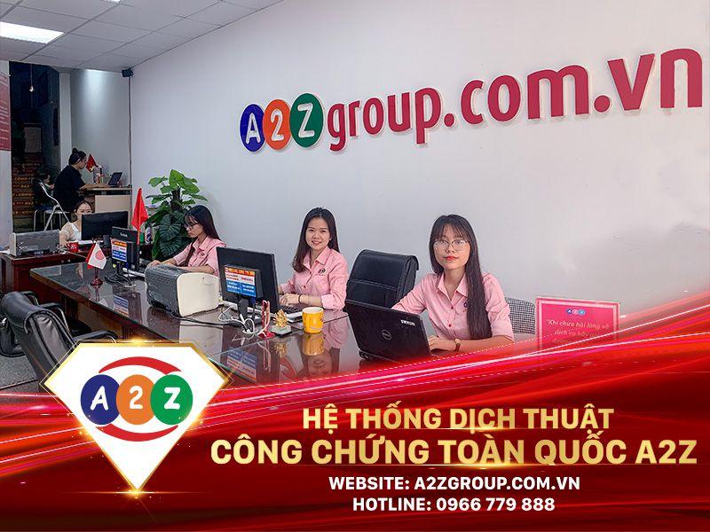 Dịch thuật công chứng tiếng Anh tại Việt Trì - Phú Thọ