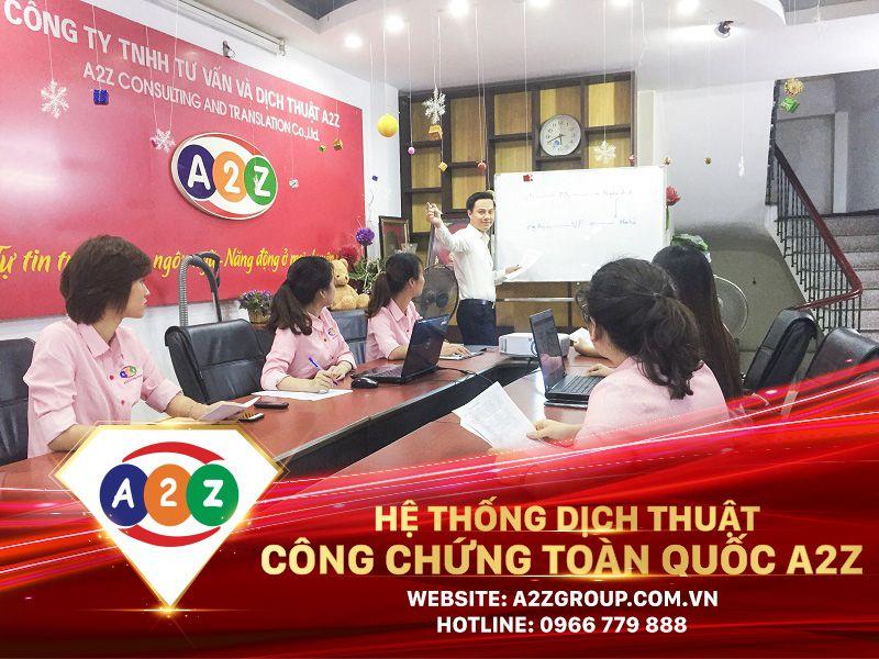 Dịch thuật công chứng tiếng Trung tại Phủ Lý - Hà Nam
