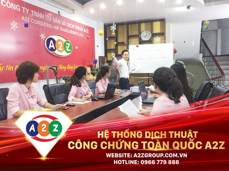 Dịch thuật công chứng tiếng Trung tại Hòa Bình