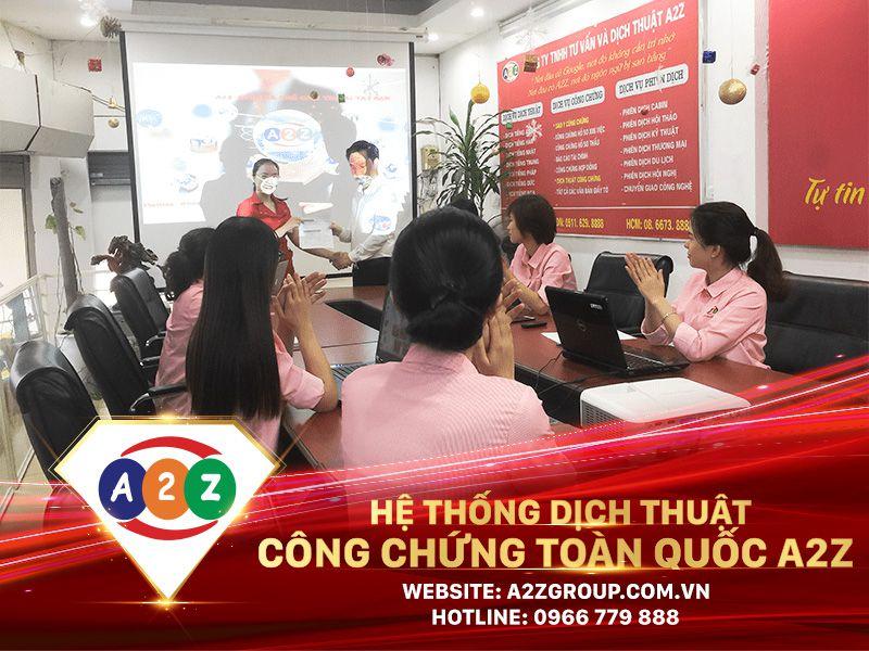 Dịch tiếng Việt sang tiếng Pháp tại Quảng Bình