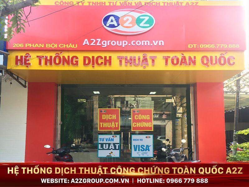 Dịch thuật công chứng tiếng Thái Lan tại Buôn Ma Thuột