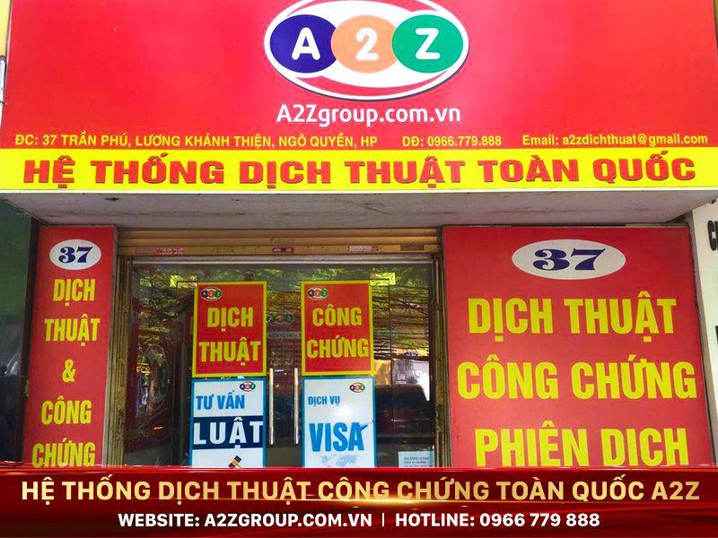 Dịch thuật công chứng tiếng Anh tại Hạ Long - Quảng Ninh
