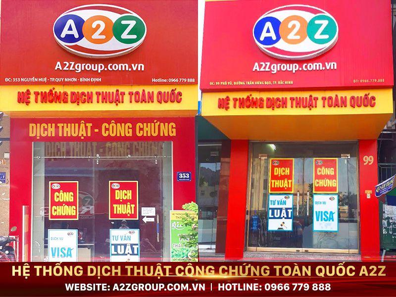 Dịch thuật công chứng tiếng Trung tại Bắc Ninh