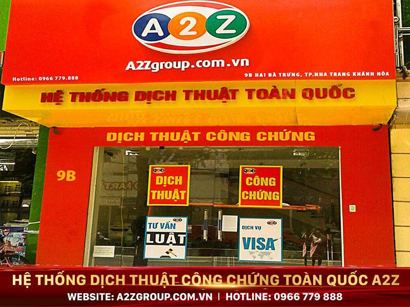 Dịch thuật công chứng tiếng Nhật tại Việt Trì - Phú Thọ