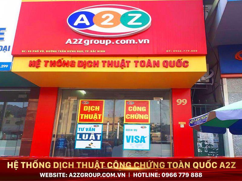 Dịch thuật công chứng tiếng Trung tại Ninh Bình