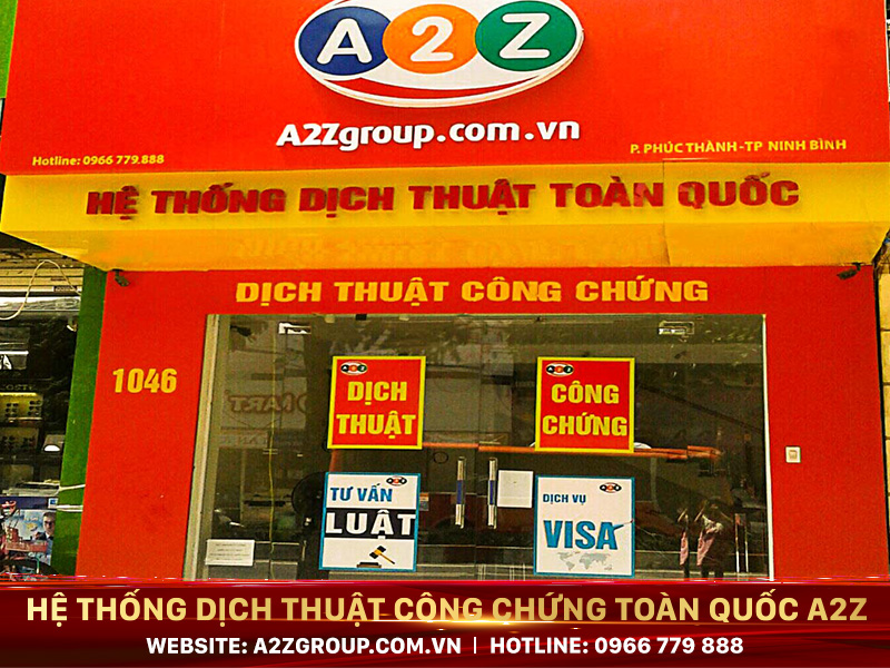 Dịch thuật công chứng tiếng Anh tại Hà Tĩnh